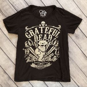 Chaser Women's T-Shirt, Size S, Grateful Dead,